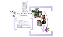 Yarn Bomb Bucknell 2012