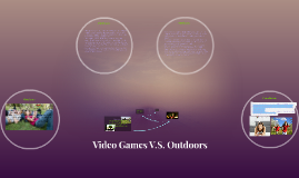 Copy of Video Games V.S. Outdoors