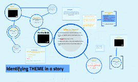 Identifying THEME in a story