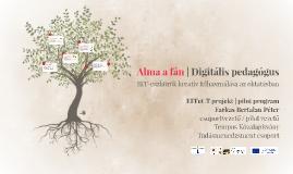 Alma a fán - Digitális pedagógus összefoglaló prezentáció