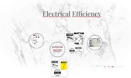 Electrical Efficency