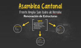 Frente Amplio San Isidro de Heredia