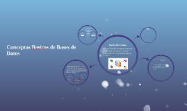 Conceptos Basicos de Bases de Datos