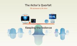 The Actor's Quartet