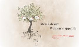 Men's desire,