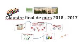 Claustro final de curso 2016 - 2017