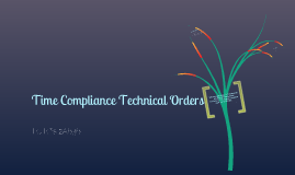 Time Compliance Technical Orders (TCTO'S)