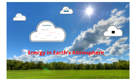 Chapter 7-4: Energy in Earth's Atmosphere