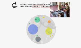"""""""EL DELITO DE RECEPTACIÓN Y SU CONCEPCION JURÍDICO DOCTRINAR"""