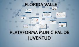 Copy of PLATAFORMA MUNICIPAL DE JUVENTUD