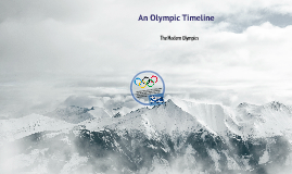 Olympic Timeline :)