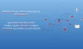 PRODUCCIÓN DE LIPASAS PARA USO EN DETERGENTES