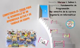 Competencia de trivia para el desarrollo de un aprendizaje activo y de trabajo en equipo