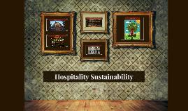 Hospitality Sustainability
