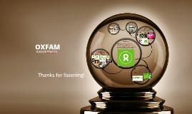 OXFAM- Geography Presentation