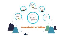 Copy of Venezuelan Winter Holidays