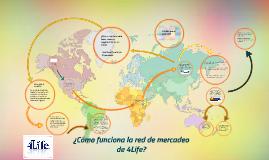 Copy of ¿Como funciona la red de mercadeo de 4Life?