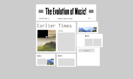 The evolution of music!