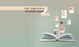 Copy of ESSÄ- friare form av vetenskaplig uppsats