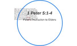 1 Peter 5:1-4