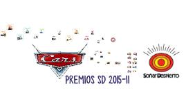 PREMIOS SD 2015-II