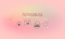 Política cambiaria