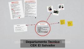 Copy of Departamento Tecnico