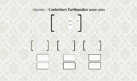 AS91007 - Canterbury Earthquakes 2010-2011