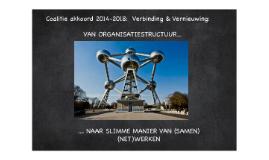 Van organisatiestructuur naar slimme manier van (samen) (net)werken