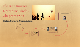 The Kite Runner: Literature Circle - Chapters 12-13