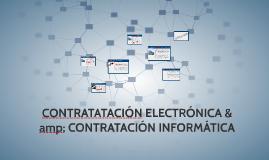 1.DIFERENCIA ENTRE CONTRATACIÓN ELECTRÓNICA & CONTRATACI