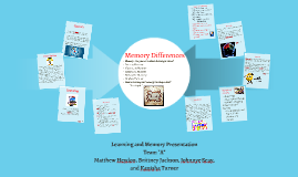 Copy of Learning and Memory Presentation