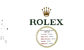 Copy of Rolex Presentation