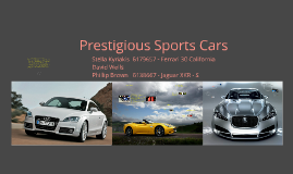 Copy of Prestigious Sports Cars