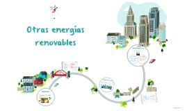 Otras energías renovables