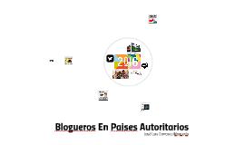 Blogueros En Paises Autoritarios