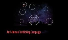 Anti-Human Trafficking Campaign
