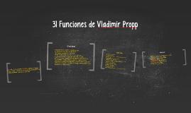 Copy of 31 Funciones de Vladimir Propp