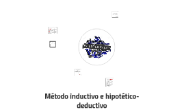 Método inductivo e hipotético-deductivo