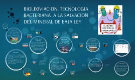 BIOLIXIVIACION, TECNOLOGIA BACTERIANA  A LA SALVACION DEL MI