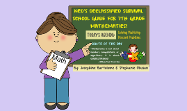 7th Grade Math Lesson Plan