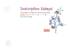 Descriptive Writing - Advanced Composition