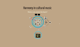 Harmony in cultural music