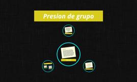 Presion de grupo