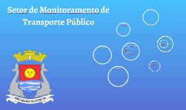 Relatório do Setor de Transporte Público
