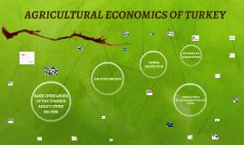 AGRICULTURAL ECONOMICS OF TURKEY