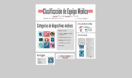 Copy of Clasificación de Equipo Médico