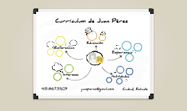 Prezumé Template: White Board Version de Sofía  de Janon González