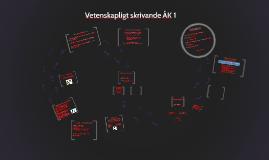 Copy of Vetenskapligt skrivande ÅK 1