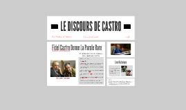 DISCOURS DE CASTRO